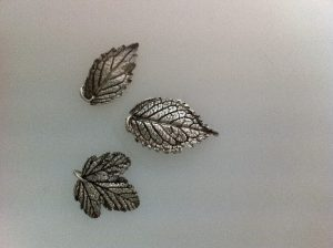 silver clay leaf course at LR Silver Jewellery www.lrsilverjewellery.co.uk