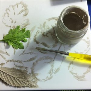 Use real leaves and silver clay paste to make your own solid silver jewellery at this workshop at www.lrsilverjewellery.co.uk