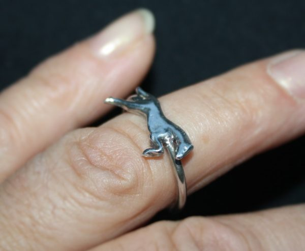 horse ring made to size at www.lrsilverjewellery.co.uk