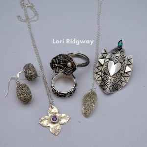 Jewellery made on the Art Clay Silver Diploma at LR Silver jewellery www.lrsilverjewellery.co.uk